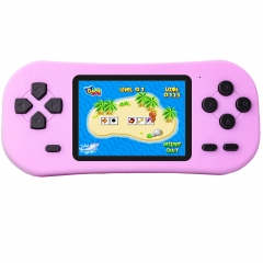 ZHISHAN Portable Handheld Game Console for Kids with Built in 218 Classic Retro Video Games Rechargeable Arcade System Device 3.5 Headphone Jack 2.5""