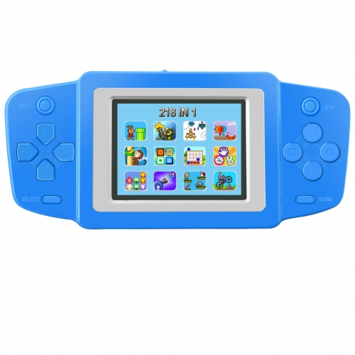Handheld Game Console for Kids Built in 218 Classic Old Video Games Retro Arcade Gaming Player Portable Games Birthday 8 Bit Rechargeable