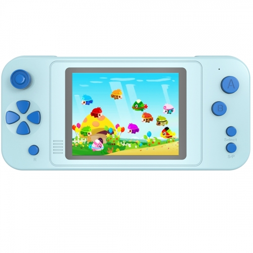 ZHISHAN Portable Handheld Game Console for Kids with Built in 218 Classic Retro Video Games Rechargeable Arcade System Device 3.5 Headphone Jack 3.5""